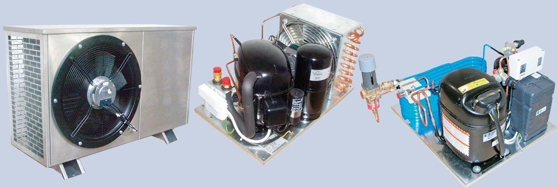 Condenser-compressor units